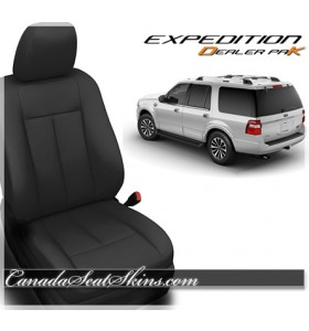 2012 - 2019 Ford Expedition Dealer Pak Leather Seat Kit