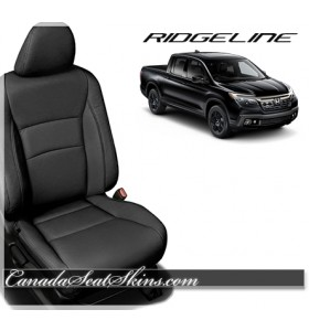 2017 - 2019 Honda Ridgeline Black Katzkin Leather Seats