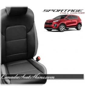 2017 - 2019 Kia Sportage Custom Katzkin Leather Seats