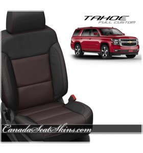 2015 - 2019 Chevrolet Tahoe Katzkin Custom Leather Seats
