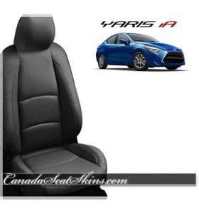 2016 - 2017 Toyota Yaris IA Katzkin Leather Seats