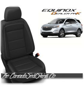 2018 - 2020 Chevrolet Equinox Katzkin Dealer Pak Leather Kits Black