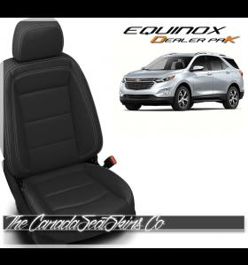 2018 - 2021 Chevrolet Equinox Katzkin Dealer Pak Leather Kits Black