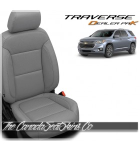 2018 - 2021 Chevrolet Traverse Katzkin Leather Seat Sale Ash