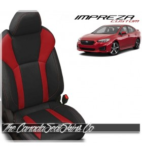 2017 - 2021 Subaru Impreza Custom Katzkin Leather Seat Sale