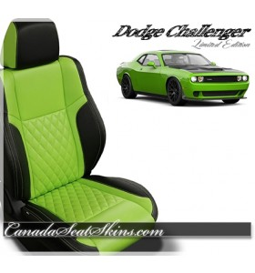 2015 - 2019 Dodge Challenger Katzkin Zkintech Leather Seats