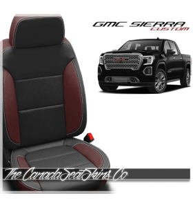 2019 - 2020 GMC Sierra Custom Designer Leather Seats