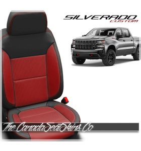2019 - 2021 Chevrolet Silverado Custom Designer Leather Seats