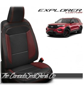 2020 - 2021 Ford Explorer Custom Leather Seats
