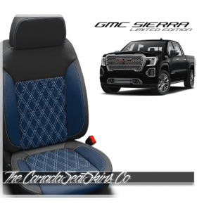 2019 - 2020 GMC Sierra Designer Diamond Stitched Leather Seats