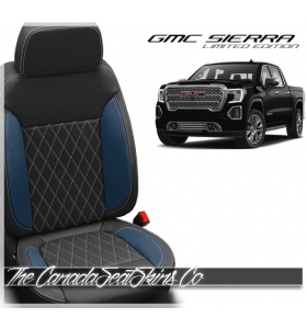 2019 - 2020 GMC Sierra Custom Diamond Stitched Leather Seats