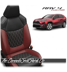 2019 - 2021 Toyota Rav4 Custom Leather Seats