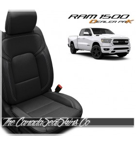 2019 - 2021 Dodge Ram 1500 DT Katzkin Leather Seat Promo Package Black