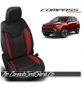 2017 - 2019 Jeep Compass Custom Katzkin Leather Seats