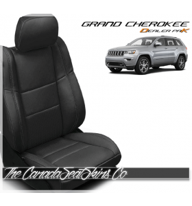 2011 - 2019 Jeep Grand Cherokee Katzkin Dealer Pak Leather Kits