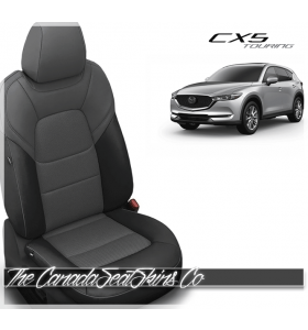 2017 - 2020 Mazda CX5 Touring Custom Charcoal Grey Leather Seats