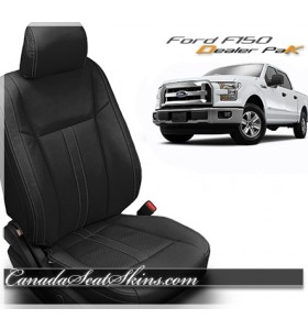 2015 - 2019 Ford F150 Black Katzkin Leather Sale
