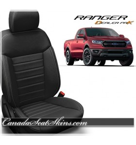 2019 Ford Ranger Dealer Pak Leather Upholstery Promotion
