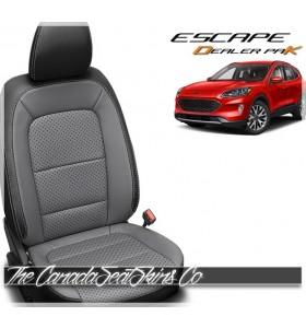 2020 - 2021 Ford Escape Katzkin Leather Dealer Pak Leather Interior Promotion Grey