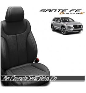 2020 - 2021 Hyundai Santa Fe Dealer Pak Replacement Leather Seat Kit in Black