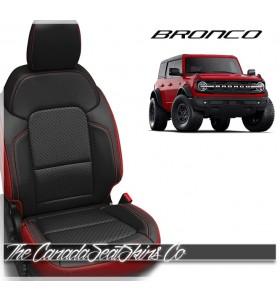 2021 - 2022 Ford Bronco Full Size Custom Katzkin Leather Seat Sale