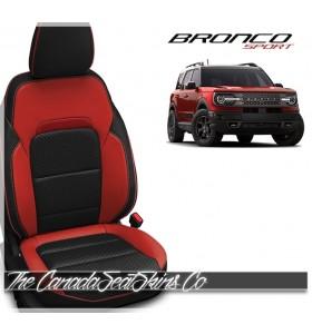2021 - 2022 Ford Bronco Sport Katzkin Custom Leather Seat Sale