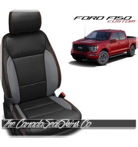 2021 Ford F150 Custom Katzkin Leather Seat Cover Sale