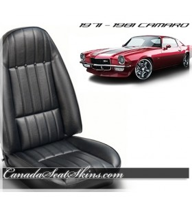 1971 - 1981 Chevrolet Camaro Sport Bolstered Seat Conversion Kit