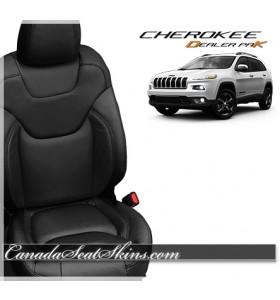 2014 - 2016 Jeep Cherokee Dealer Pak Leather Upholstery Kits