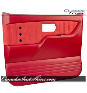 1973 - 1987 Chevrolet Truck TMI Sport XR Door Panel in Red