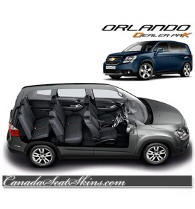 Chevrolet Orlando Katzkin Leather Seats