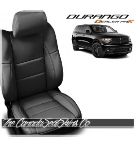 2011 - 2020 Dodge Durango Katzkin Dealer Pak Black Leather Seat Promo