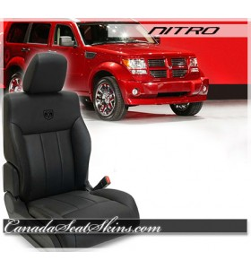 2007 - 2011 Dodge Nitro Custom Leather Seats