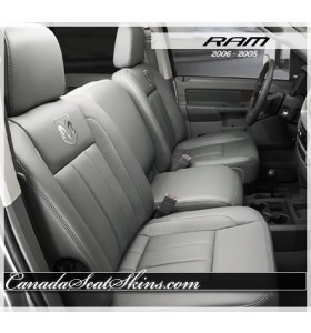 2006 - 2008 Dodge Ram Katzkin Leather Seats