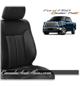 Ford F150 Black Leather Seats