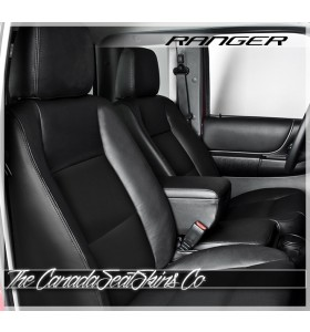 2010 - 2012 Ford Ranger Black Katzkin Custom Leather Seat Sale