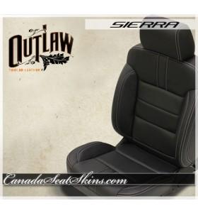 2014 - 2018 GMC Sierra Katzkin Outlaw Leather Seats