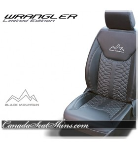 Jeep Wrangler Zkintech Limited Edition Leather Seat Kit