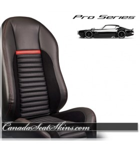 Pro Series Shelby Style Race Bucket Seats Black