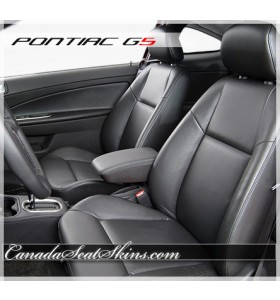Pontiac G5 Black Katzkin Leather Seats