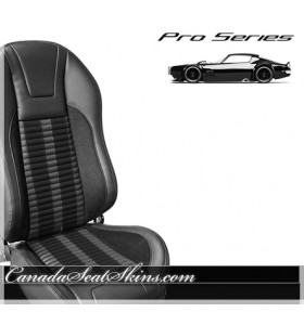 TMI Pro Series R500 Custom Bucket Seats in Black