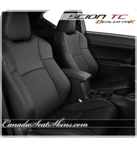 Scion TC Black Leather Seats
