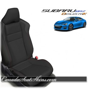 2013 - 2019 Subaru BRZ Black Leather Seats