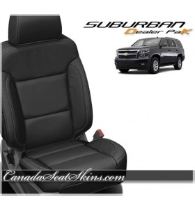 2015 - 2020 Chevrolet Suburban Katzkin Leather Seats