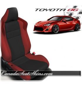 2016 - 2017 Toyota 86 Katzkin Leather Seats Red