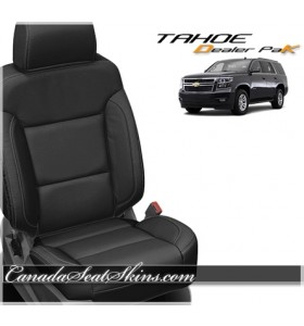 2015 - 2020 Chevrolet Tahoe Leather Seat Covers