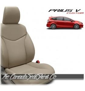 2012 - 2017 Toyota Prius Wagon Katzkin Custom Leather Seat Sale