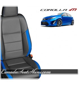 2016 - 2019 Toyota Corolla IM Kaztkin Leather Seats
