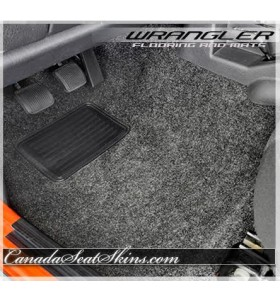 2007 - 2015 Jeep Wrangler Replacement Carpet