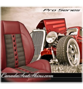 Sport XR Hot Rod Seat in Wine and Suedezkin